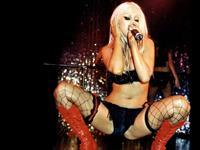 Christina Aguilera in a bikini