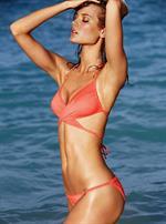 Monika Jagaciak in a bikini