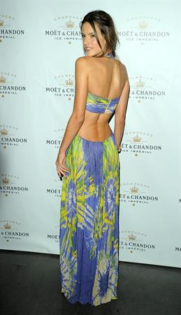 Alessandra Ambrosio Follow the Sun Event on June 24, 2010