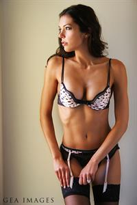 Adrianne Curry in lingerie