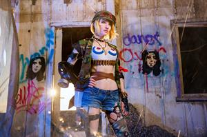 Lyz Brickley - Tank Girl Cosplay