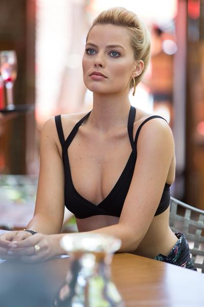 Margot Robbie in a bikini