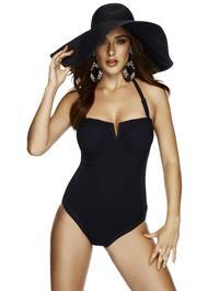 Charlie Dupont in a bikini