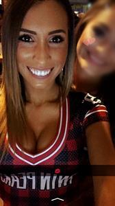 Amber Herst taking a selfie