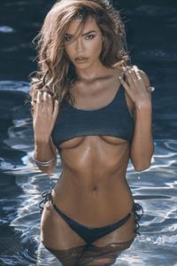 Brittany Binger in a bikini