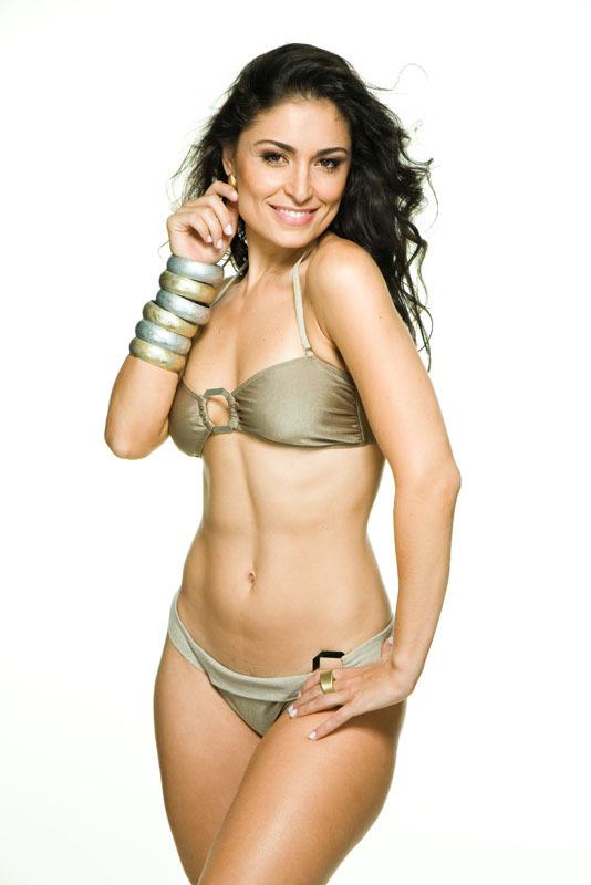 Franciely Freduzeski in a bikini