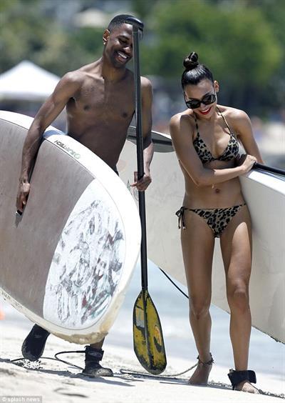 Naya Rivera in a bikini