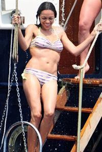 Rosario Dawson in a bikini