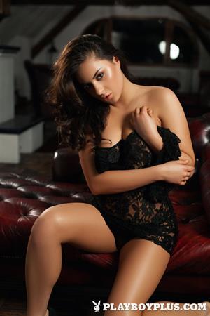 Playboy Cybergirl - Nikki Leigh Nude Photos & Videos at Playboy Plus!