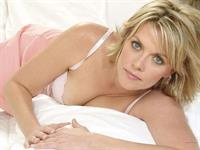 Amanda Tapping in lingerie