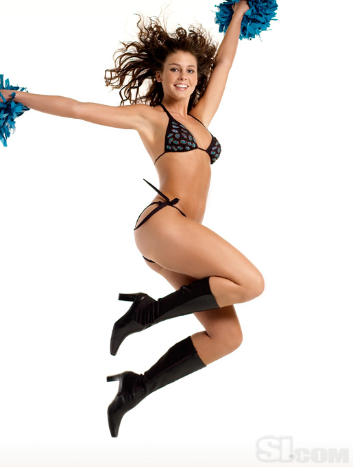 Erin Carlisle in a bikini