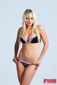 Genevieve Morton in lingerie