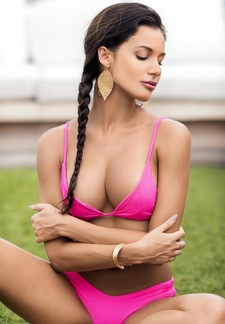 Brianne Herndon in a bikini