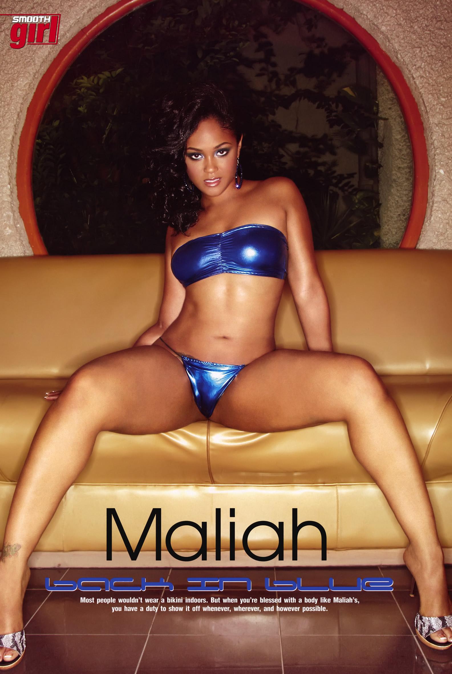 Maliah Michel in a bikini
