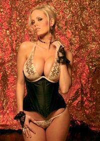 Malene Espensen in lingerie