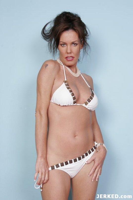 Nancy Vee in a bikini