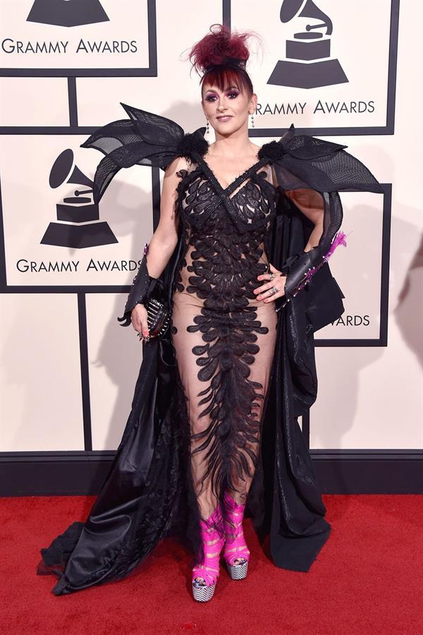 Jacqueline Van Bierk 2016 Grammy Awards