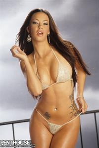 Sophia Santi in a bikini