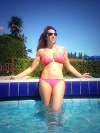 Sabrina Salerno in a bikini