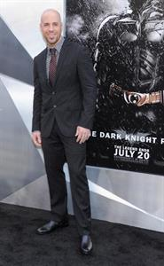 Chris Daughtry at the New York Premiere of Dark Knight Rises