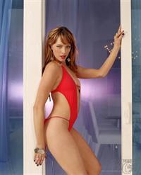 Melinda Clarke in a bikini