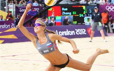 Anastasia Vasina is a Russian Olympic Beach Volleyball Player