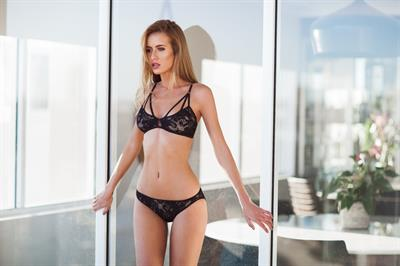 Renee Somerfield in lingerie