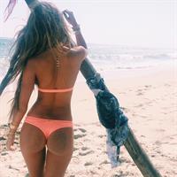 Camila Morrone in a bikini - ass