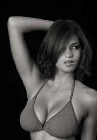 Black and white Nicole Pisarri