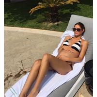 Mathilde Gøhler in a bikini