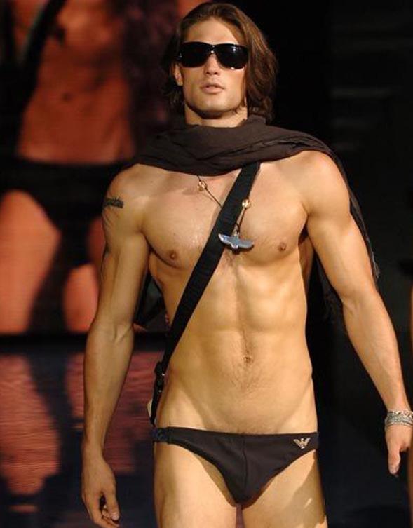 Jared Koronkiewicz in lingerie