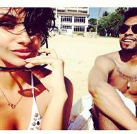 Nazanin Mandi in a bikini