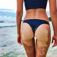 Josephine Skriver in a bikini - ass