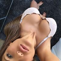Julia Gilas taking a selfie