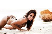 Lauren Vickers in a bikini