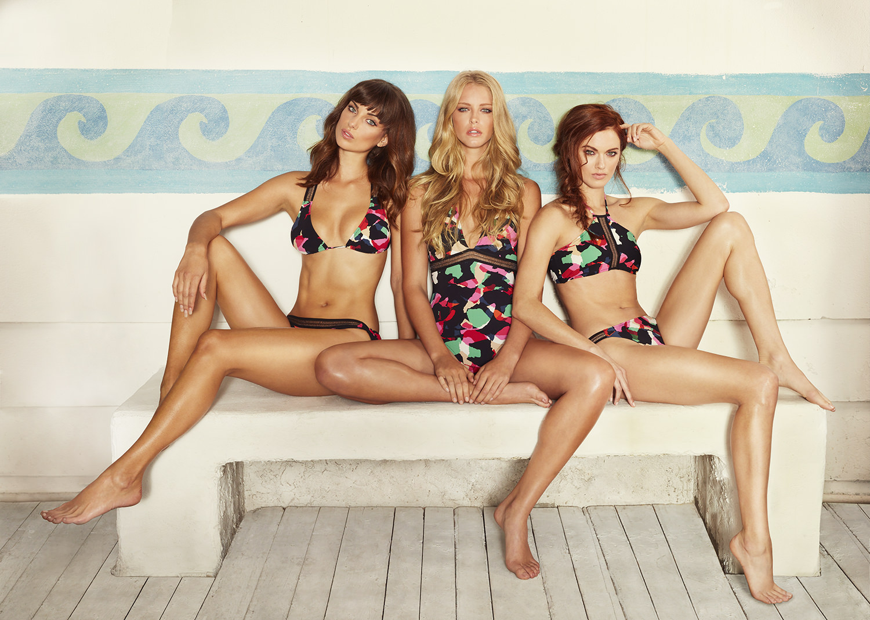 Dusica Savic in a bikini