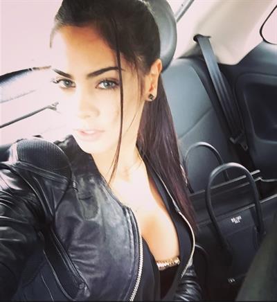 Maria Guadalupe Gonzalez taking a selfie