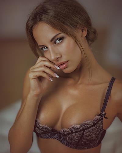Alena Lenina in lingerie