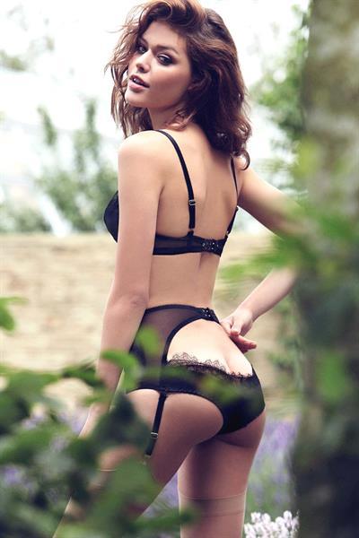 Marcela Vivan in lingerie - ass