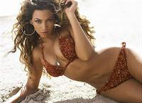 Beyonce Knowles in a bikini