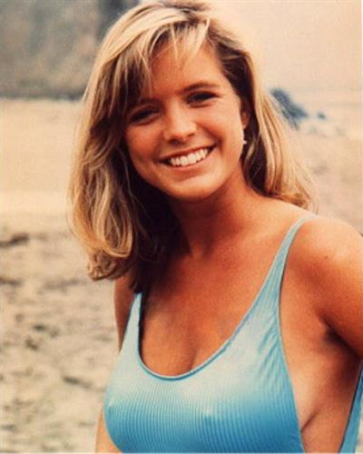 Courtney Thorne-Smith in a bikini