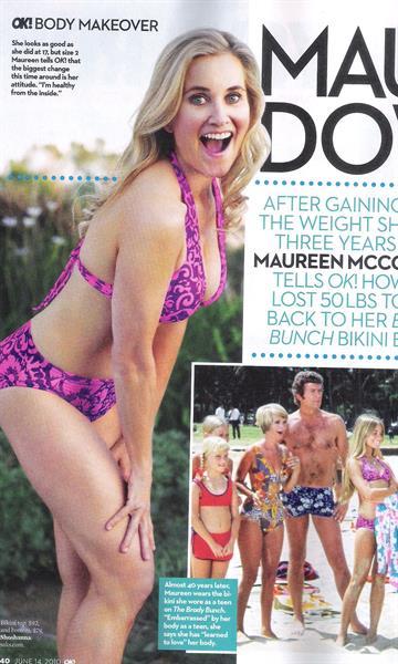 Maureen McCormick in a bikini