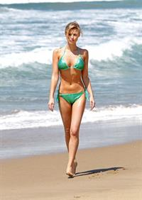 Sasha Jackson in a bikini