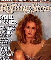 Cybill Shepherd in lingerie