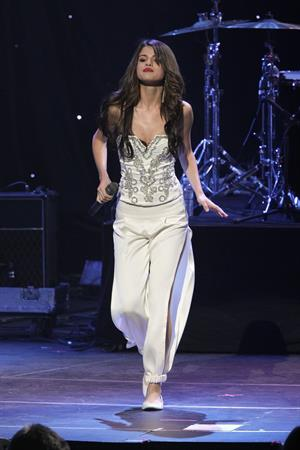 Selena Gomez KIIS FM's Jingle Ball 2010 NOKIA Theatre Los Angeles on December 5, 2010
