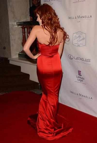 Renee Olstead at Lambda Legals West Coast Liberty Awards Gala, Beverly Hills, June 13, 2014
