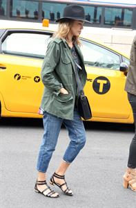 Jessica Alba out and about in NYC June 11, 2014