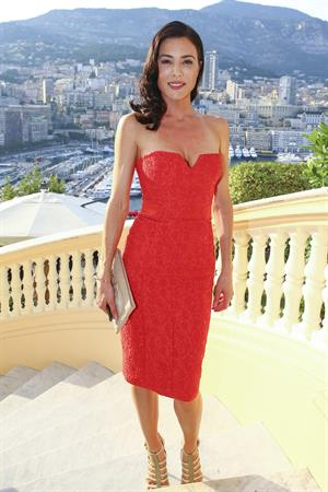 Jaime Murray at cocktail ~ Minister of State, 54th Monte Carlo TV Festival June 10, 2014