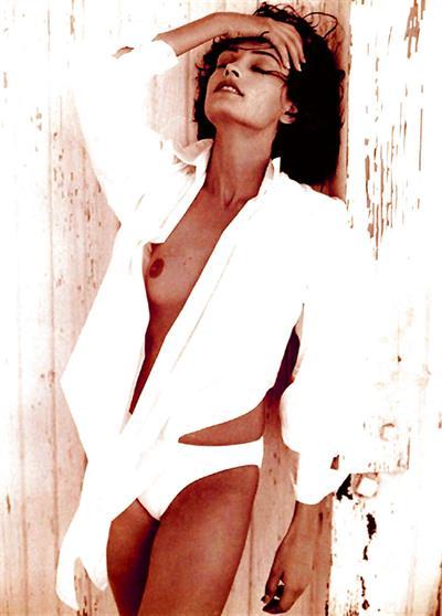 Famke Janssen - breasts