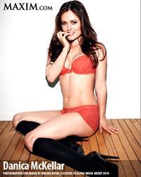 Danica McKellar in lingerie